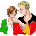 GerIta flag - hetalia-gerita photo