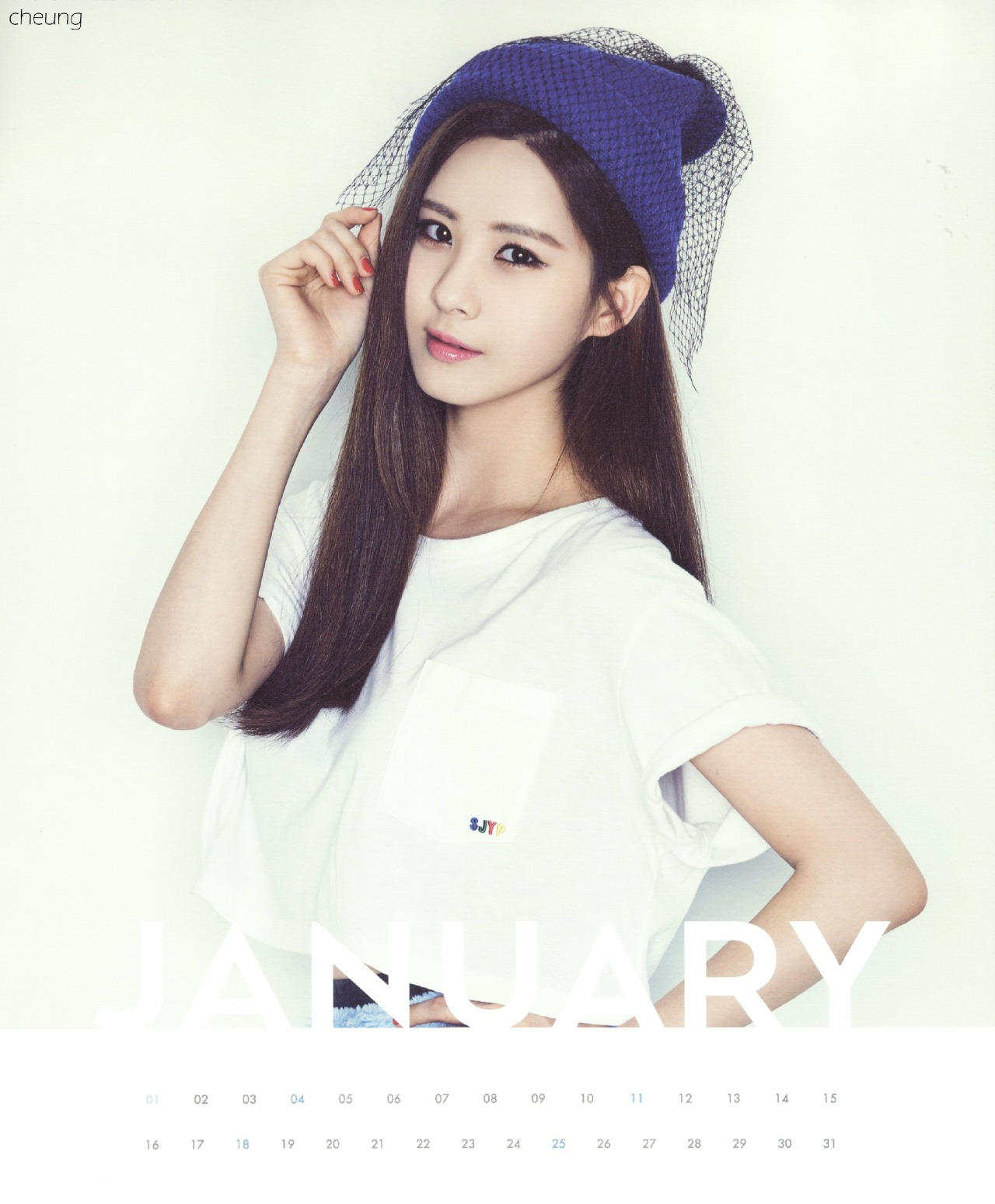 Girls' Generation Calendar 2015