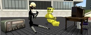 Gmod funtime - Puppet and Goldie