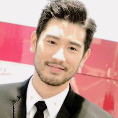 Godfrey Gao wallpaper with a business suit titled Godfrey Gao icone