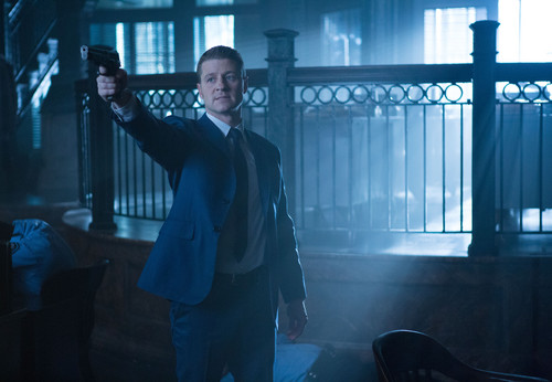 Gotham wallpaper with a business suit titled Gotham - Episode 1.12 - What The Little Bird Told Him