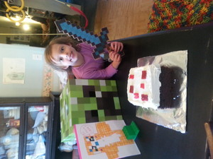 H and Stampy Cake