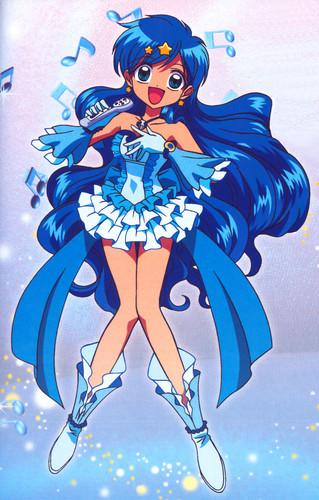 Mermaid Melody Hintergrund with Anime called Hanon Hosho