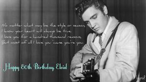 Happy 80th Birthday, Elvis Presley! ❤