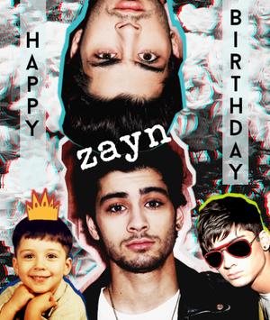 Happy Birthday Zayn I <3 You
