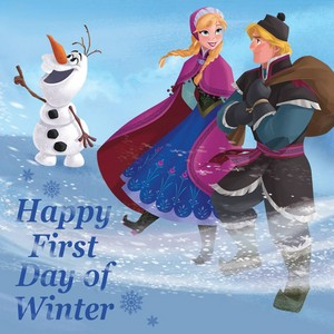 Happy First دن of Winter