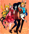 Happy New Year 2015 - marceline fan art