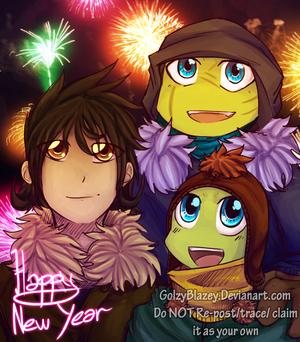 Happy New বছর 2015