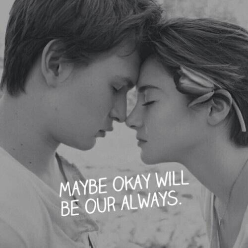 Hazel and Augustus - The Fault in Our Stars Fan Art (37902481 ...