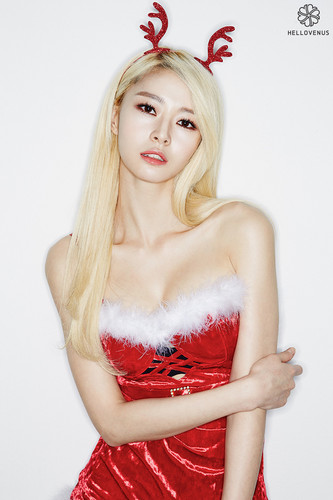 Hello Venus achtergrond probably containing a cocktail dress, a avondeten, diner dress, and a strapless called Hello Venus Nara Wiggle Wiggle