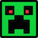 Hexagon Force Creeper Icon - minecraft icon