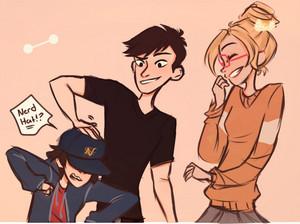 Hiro, Tadashi and Honey