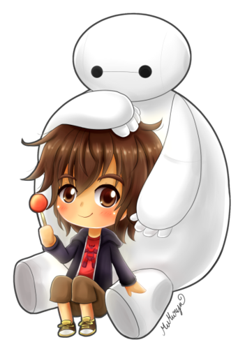 Big Hero 6 Hintergrund titled Hiro and Baymax