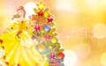 Holiday Princess - Belle - disney-princess wallpaper
