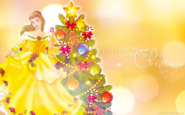 Holiday Princess - Belle