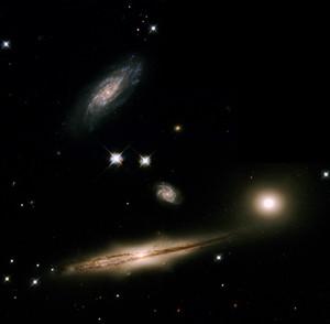 Hubble photographie