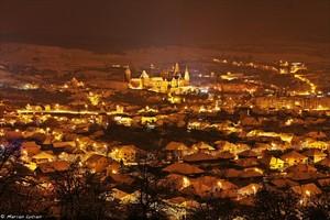 Hunedoara city Romania