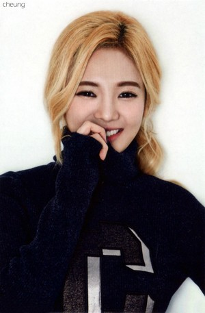 Hyoyeon - 2015 Season Greetings