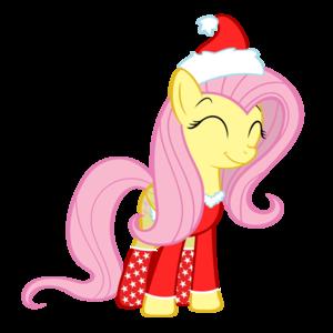 In A Santa Suit