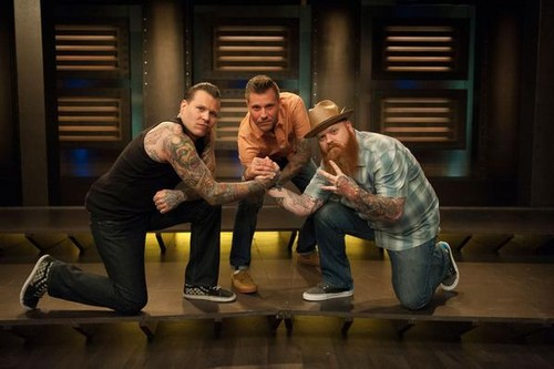 Ink Master wallpaper probably with a living room and a drawing room called Ink Master | Season 5 | Finalists