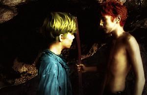 Jack Merridew and Ralph