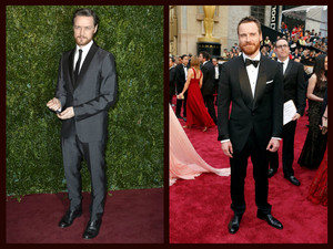 James McAvoy and Michael Fassbender