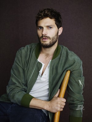 Jamie Dornan for Elle UK