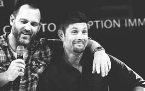 Jensen and Ty Olsson