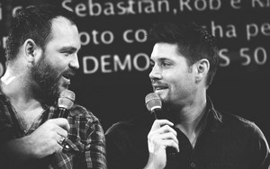 Jensen and Ty Olsson
