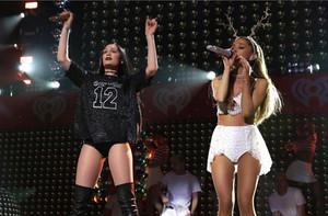 Jessie J and Ariana