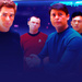 Jim, Scotty, Bones and Sulu - james-t-kirk icon
