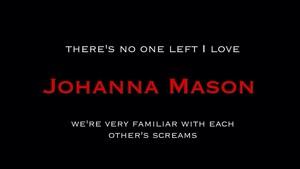 Johanna Mason | Memorable mga panipi