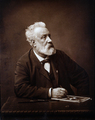 Jules Verne in 1892 - poets-and-writers photo