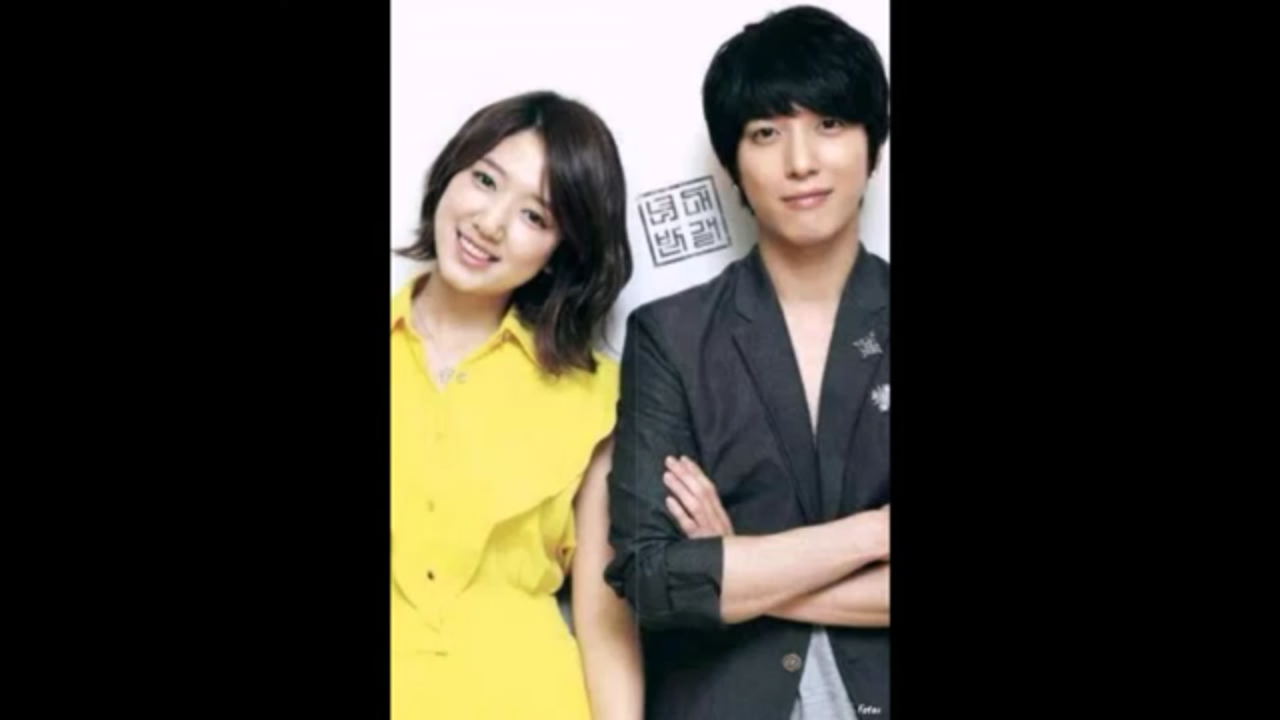 Jung Yong Hwa with Park Shin Hye (Heartstrings)