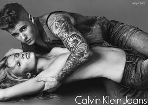 Justin for Calvin Klein's Spring 2015