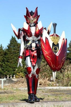 Kamen Rider Idun - apple Arms