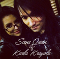 Karla Krayola with Ashley Purdy
