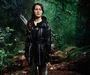 Katniss Everdeen's wax figure