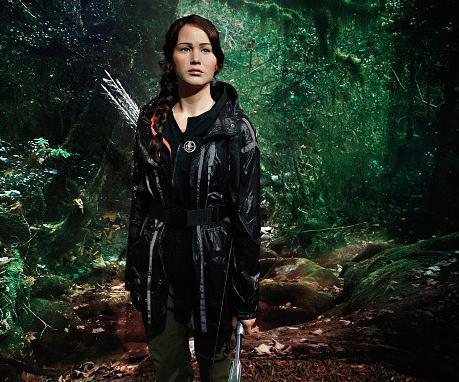 Katniss Everdeen's wax figure