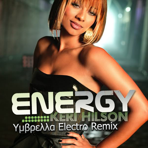 Keri Hilson wallpaper with a portrait called Keri Hilson ― Energy (Υμβρελλα Electro Remix) (Original Single Cover)