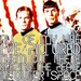 Kirk and Spock - star-trek icon