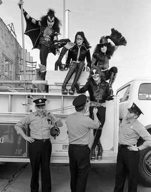 Klassic KISS Cadillac Michigan, October 10, 1975