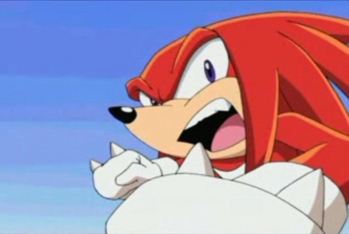 Knuckles the Echidna wallpaper called Knux in Sonic X lol