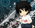 L Death Note Chib - l fan art