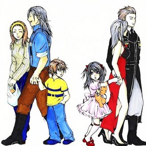 LIL SQUALL AND LIL RINOA