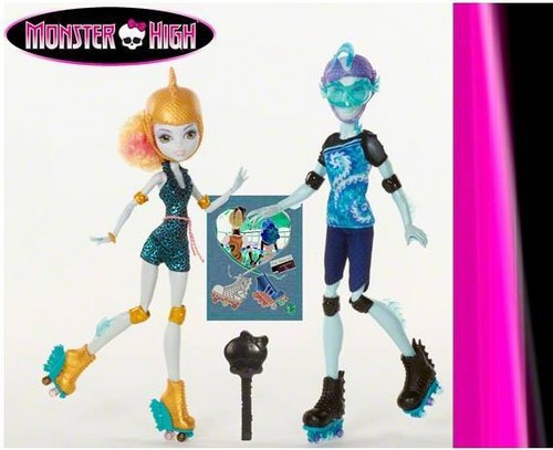 Monster High bức ảnh titled Lagoona Blue & Gil Webber 2-Pack 2015