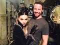 Lana Parilla On The Set of OUAT  - once-upon-a-time photo