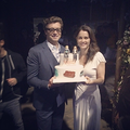 Last Day on Set of The Mentalist - Cake is a Fan Gift - the-mentalist photo