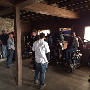 Last день on Set of The Mentalist