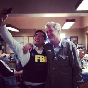 Last दिन on Set of The Mentalist